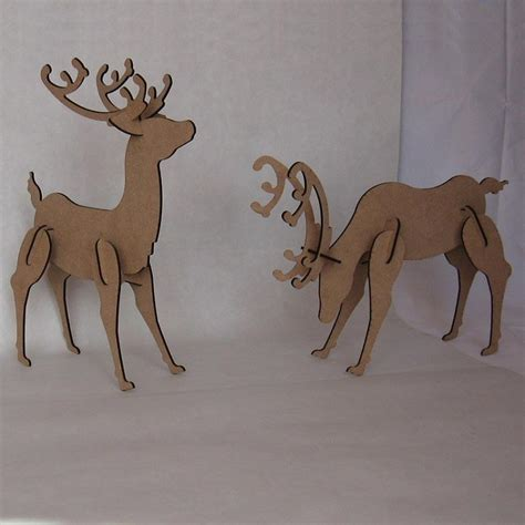 cardboard deer template search results for cardboard reindeer puzzle template