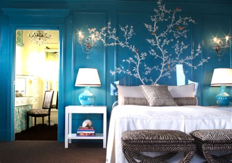 bedrooms with blue walls the homely place kendall wilkinson blue room