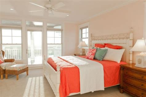 coral color bedroom peach and coral accents ideas and inspiration