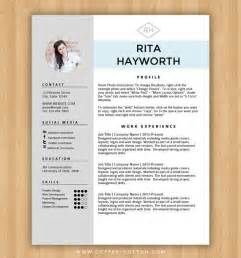 resume design templates word 25 best ideas about creative cv template on