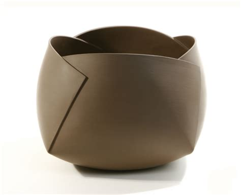 Folded Paper Bowl - hoey s ceramic serenity daily muse