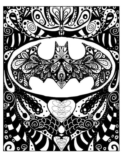 batman mandala tattoo art awesome batman cool draw drawing drawings