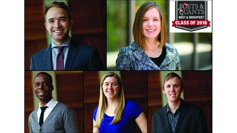 Poets And Quants Mba by Tuck School Of Business Five Tuckies Named To Poets