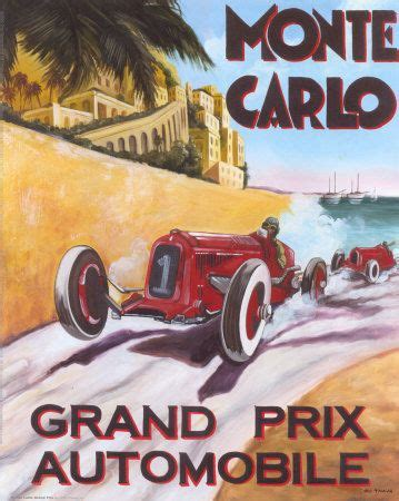 1325268909 art automobile a monaco vintage auto racing posters on vintage auto racing posters