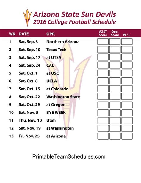 printable suns schedule 1000 images about pac 12 football schedule 2016 on