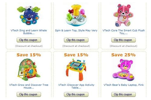 vtech toy coupons printable