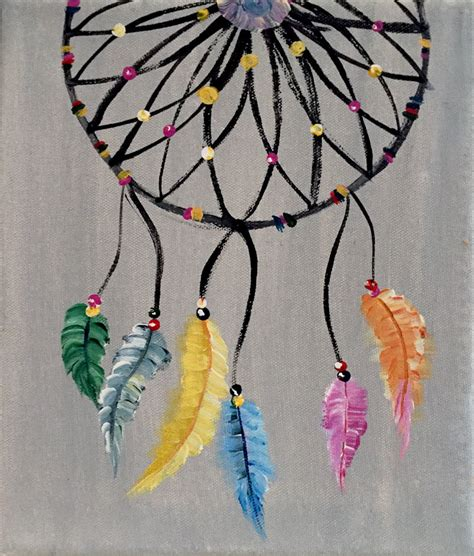 www feather paint party class dreamcatcher speckled feather mercantile
