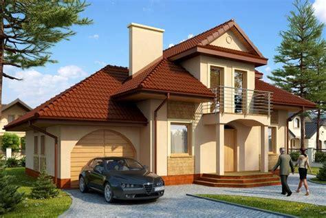 casa con portico fachadas de casas de dos pisos