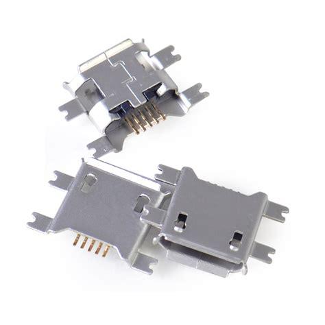 Socket Usb B Tancap Pcb 10pcs type b micro usb 5 pin pcb smt mount connector port socket ebay