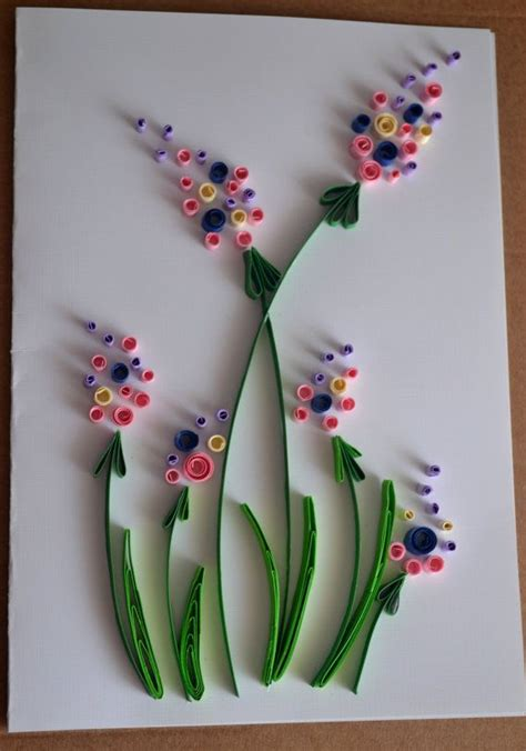 how to make quilling greeting cards quilled greeting card birthday card s by
