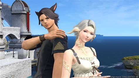 final fantasy xiv screenshots show update   raid