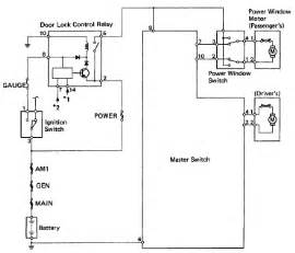 hilux pickup 1993 power window circuit diagram binatani com