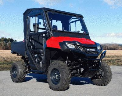 curtis industries introduces cab system for honda pioneer