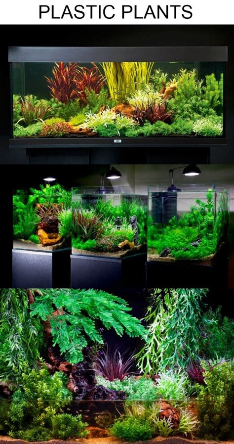 Aquascape Plants by Aquascaping With Plastic Plants Only Aquascaping