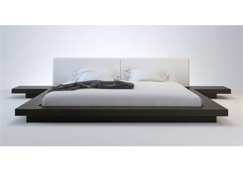 modern low profile bed wanda wenge white modern platform bed contemporary beds
