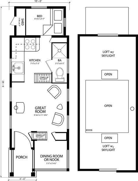 floor plans tiny homes luxury tiny house for four 46 for your home interior decor