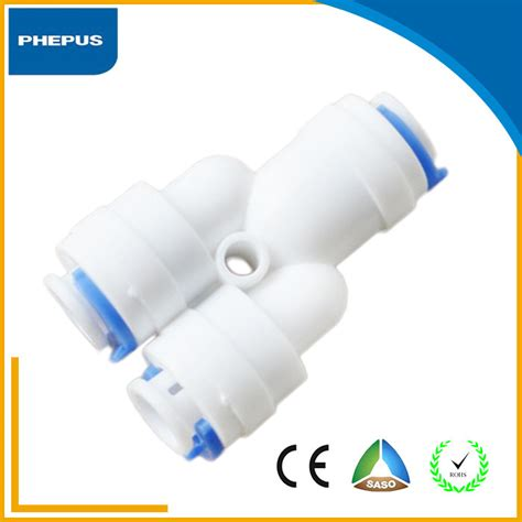 Fitting Ro Y 3 8 1 2 quot or 3 8 quot y type push fit fitting y shape water adapter
