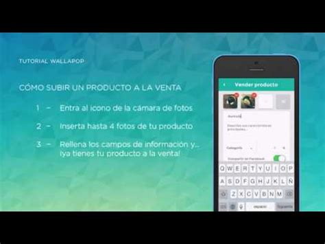 tutorial wallapop tutorial wallapop como subir un producto iphone youtube