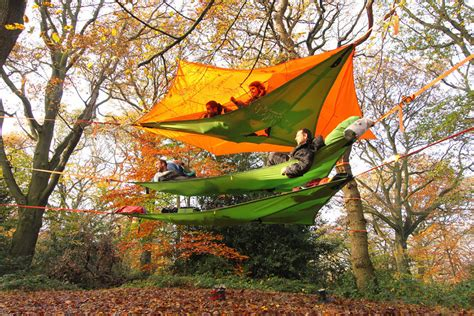 Tenda Hammock New Suspended Tree Tents Are Better Than Home