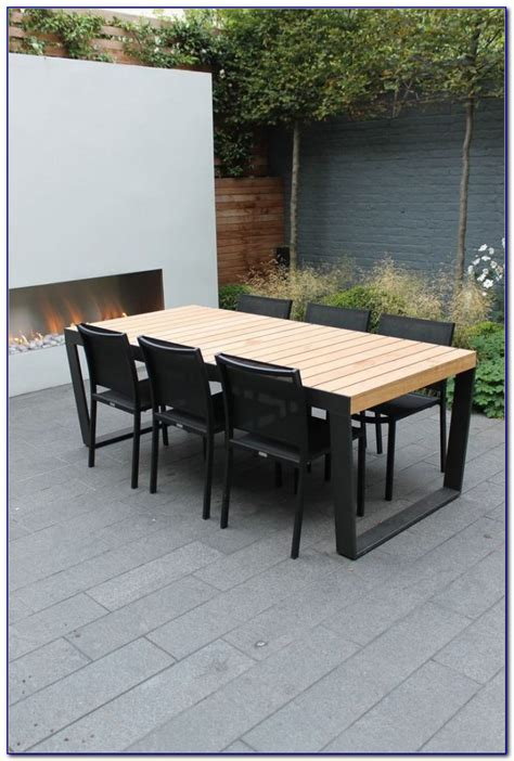 modern outdoor dining set chairs home design ideas