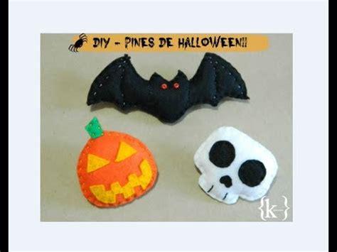 Imagenes De Halloween Fieltro | diy pines de fieltro conmemorativos de halloween youtube
