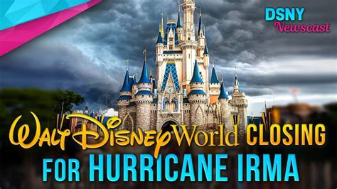 hurricane irma forces disney to walt disney world resort disney news 9 8 17