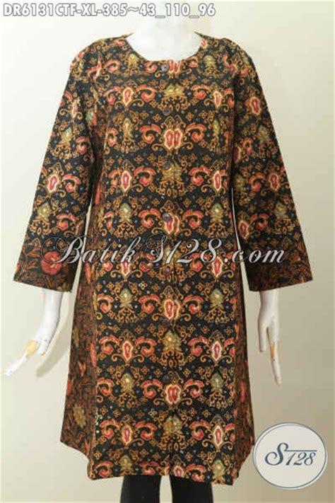 Baju Wanita Ukuran Xl batik dress wanita dewasa baju batik ukuran xl model