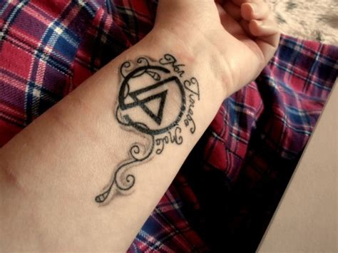 linkin park tattoos linkin park on