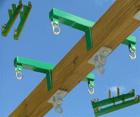 metal swing set brackets swing glider bracket horse block