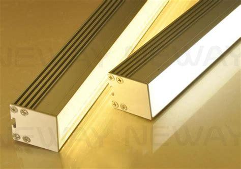 led suspended ceiling lights linear led display aluminum profile ceiling pendant l