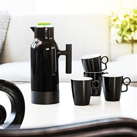 cafe design by gustav hallen accent kaffekanna 1l svart gustav hallen sagaform