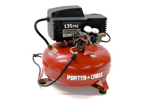 porter cable air compressor model cffn250n 2hp 135psi 6 gallon tank ebay