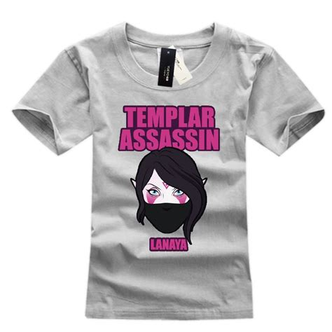 Dota 6 T Shirt dota 2 templar assassin defense of the ancients tshirt
