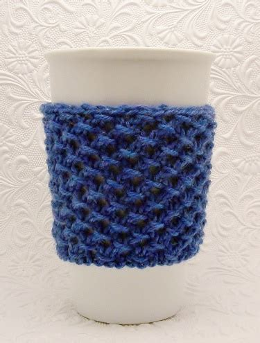 knitting pattern for cup cozy cup cozy knitting pattern pdf instant