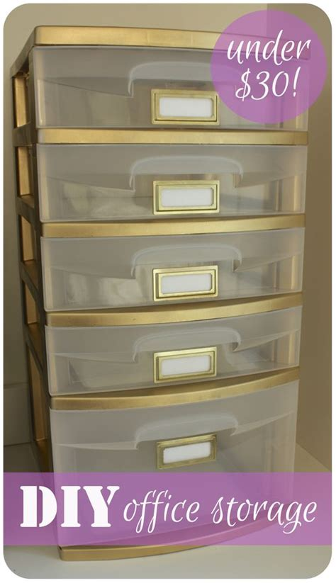 spray paint plastic drawers gold i don t that i d