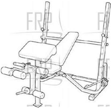 weight bench replacement parts proform 733 pfbe62290 fitness and exercise equipment