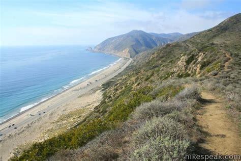 best hikes malibu hikes in the santa mountains hikespeak