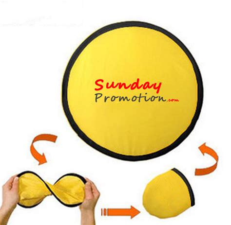 foldable fans with pouch custom foldable collapsible frisbee fan with pouch