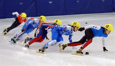 short track speed skating winter olympics speed skates