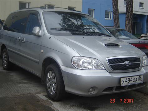 Kia Cars 2005 2005 Kia Carnival Ls Problems