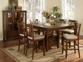 espresso dining table with chairs collections