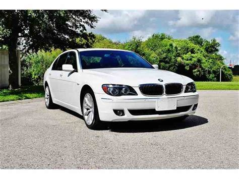 old car manuals online 2008 bmw 7 series engine control classic bmw 7 series for sale on classiccars com 13 available