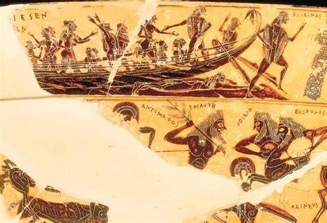 vaso di francois la nave di teseo sul vaso fran 231 ois ed i suoi interrogativi