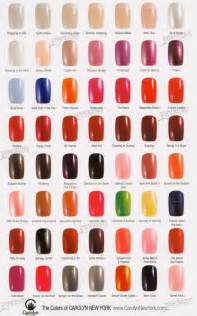 gallery for gt opi nail polish color chart 2013