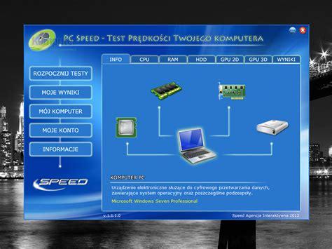 pc speed test pc speed test 1 1 1 0 pobierz za darmo