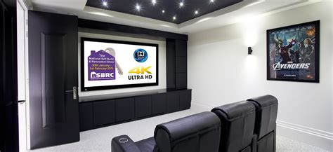 home cinema demo with 4k and dolby atmos