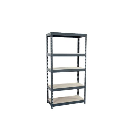 shop edsal 72 in h x 36 in w x 18 in d 5 tier steel