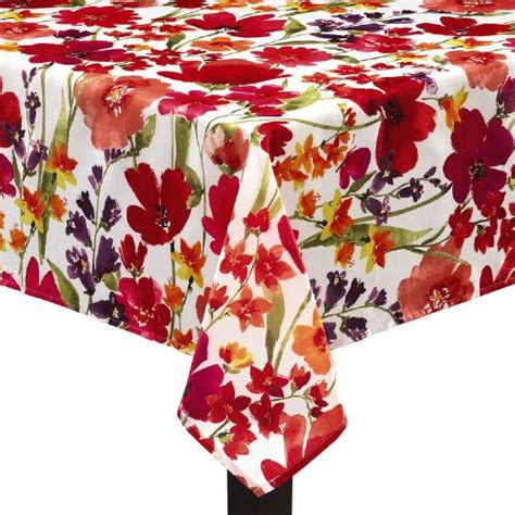 pink and orange floral tablecloth christmas tree shops