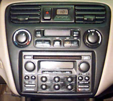 1998 honda accord radio code how to replace the honda accord 2000 car radio with a