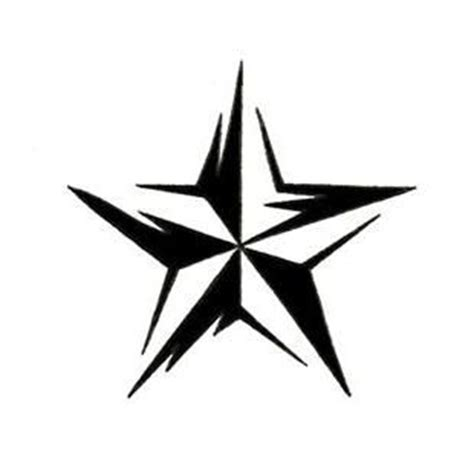 5 point star tattoo designs five point designs clipart best